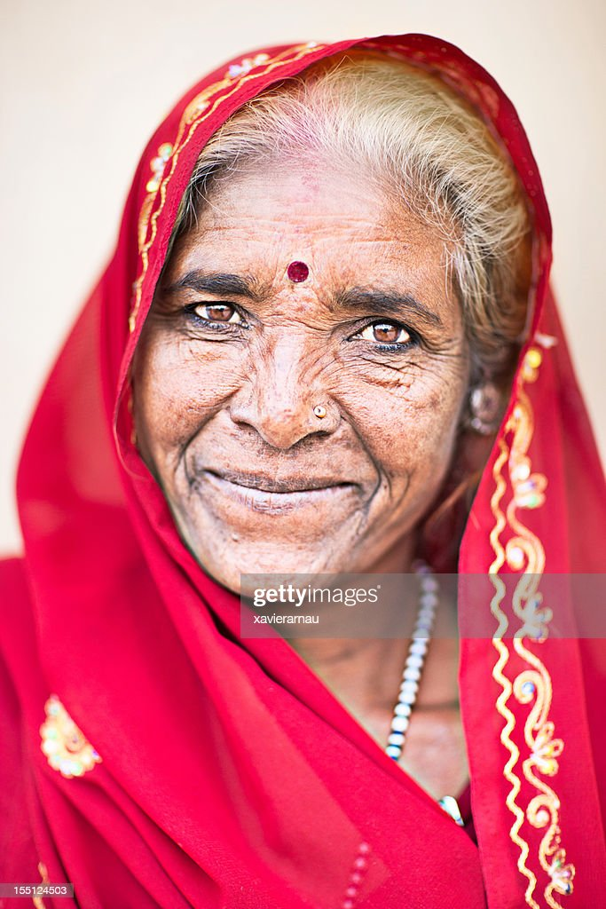 Old Indian Lady Stock Photo  Getty Images-4035
