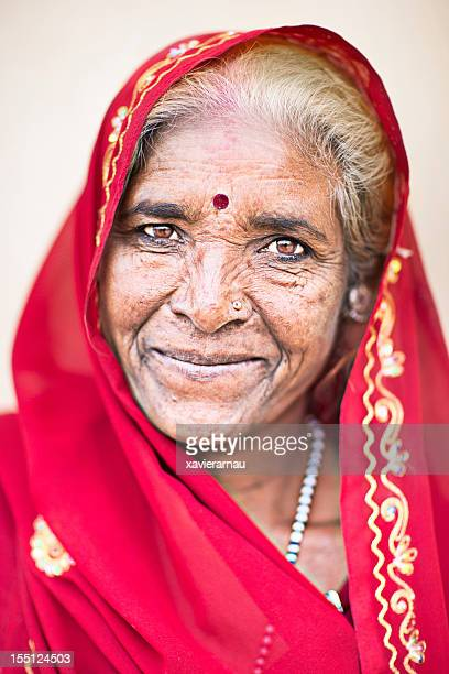 Old Indian lady