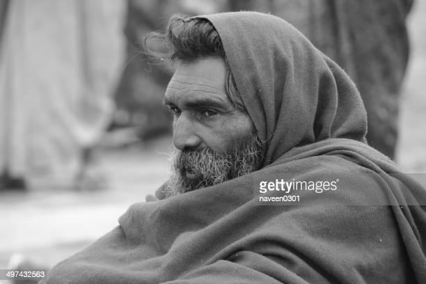 インドの男性クンブメラ-2013 年
