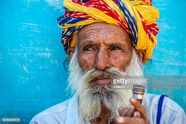 old indian man - hashish stock pictures, royalty-free photos & images