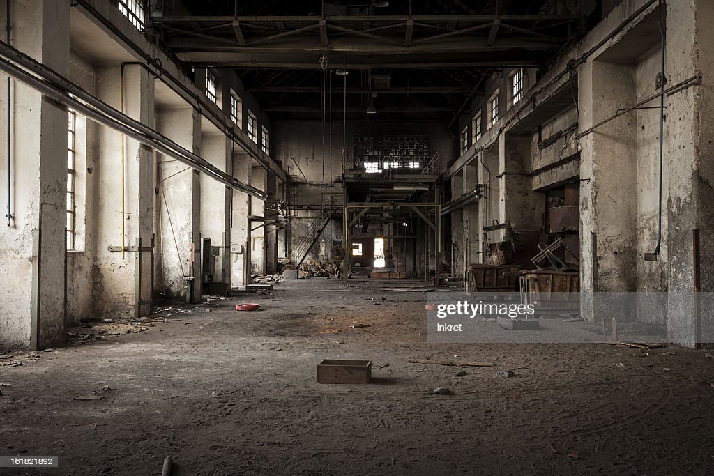 Old industrial building : Stock Photo