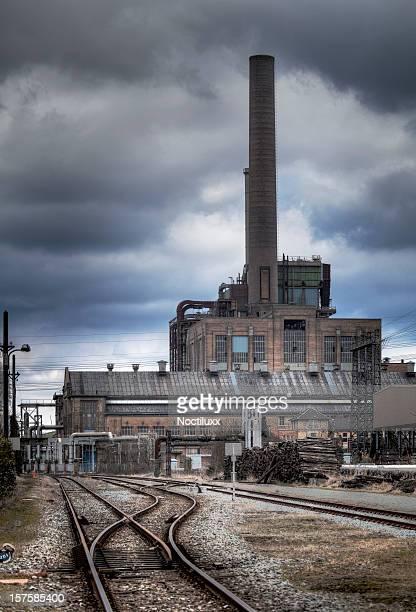 旧工業団地 - 打ち捨てられた ストックフォトと画像