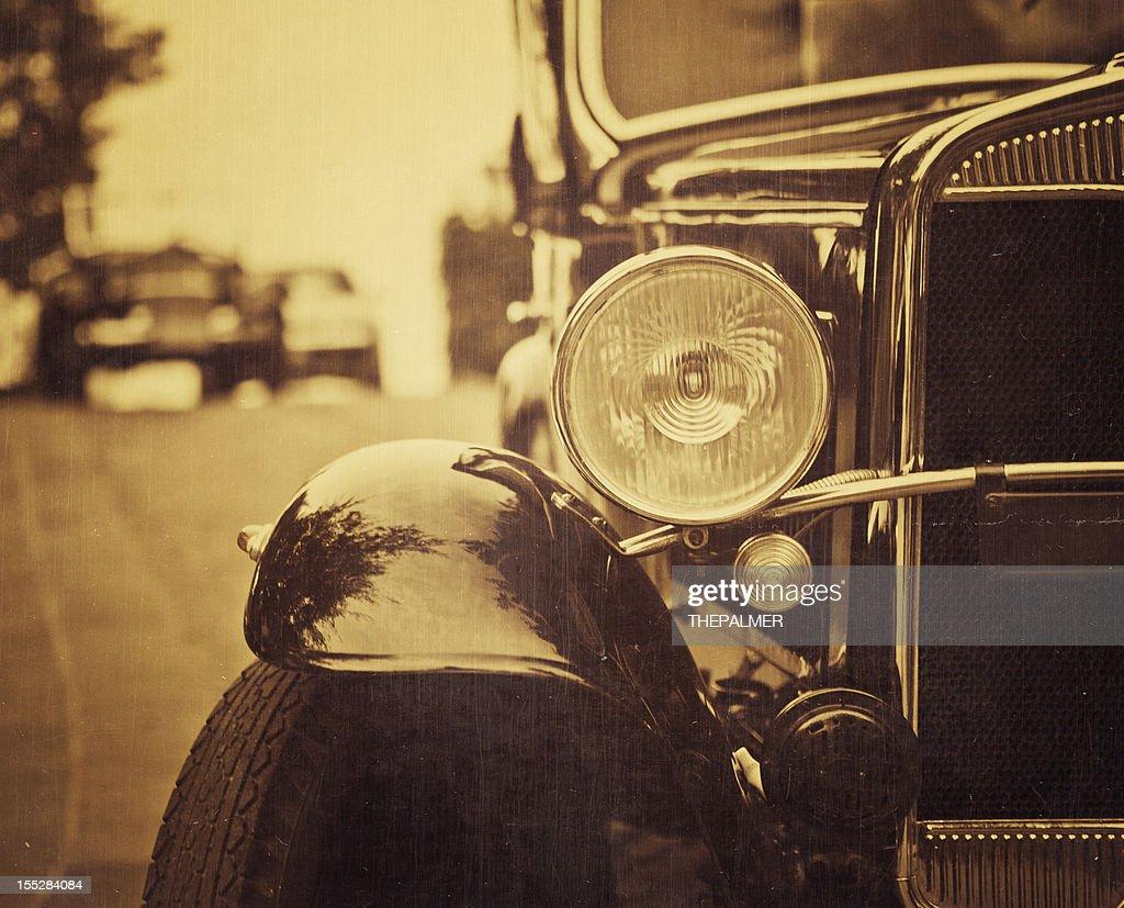 old italian car from 1921 : Stock Photo