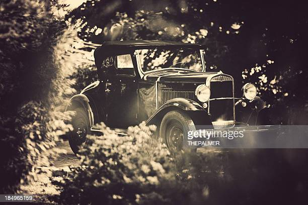 old italian car from 1921 - 1920 car stock photos and pictures