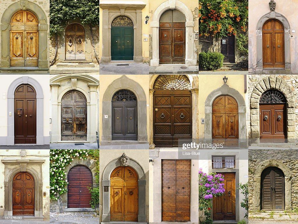 Italien portes Collection, Région de Chianti : Photo