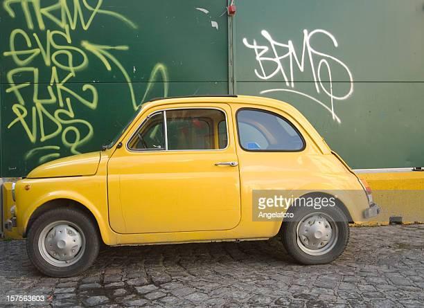 Old italian Fiat 500