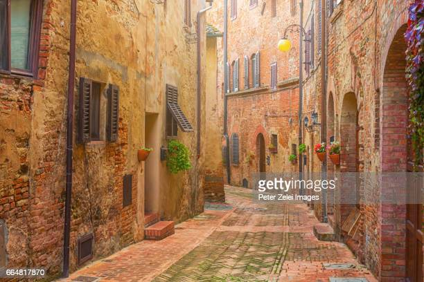 Old italian town in Tuscany