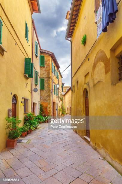 Old italian town (Pienza in Tuscany, Italy)