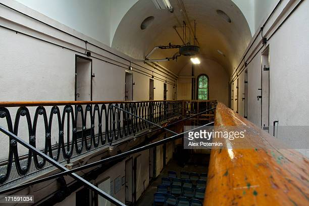 old jail prison of mauch chunk - jim thorpe pennsylvania stock photos and pictures