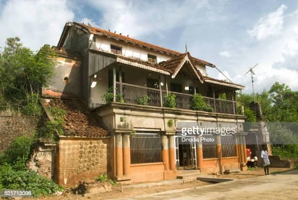 Old Jain House At Vidur Near Tindivanam Tamil Nadu India
