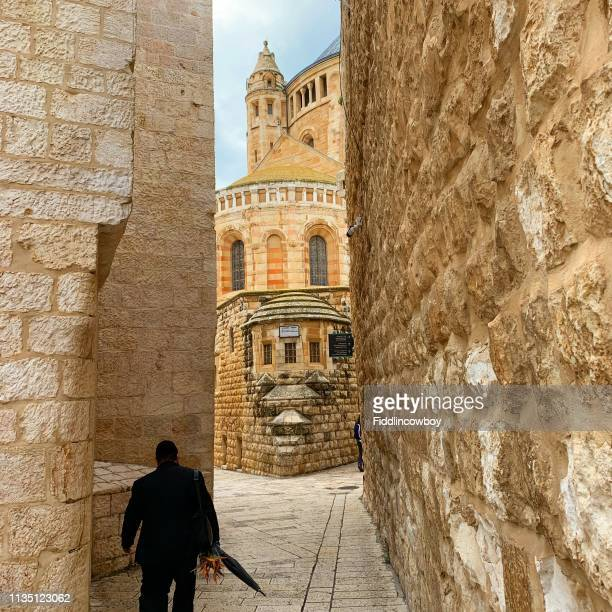 old jerusalem - jerusalem antiga imagens e fotografias de stock