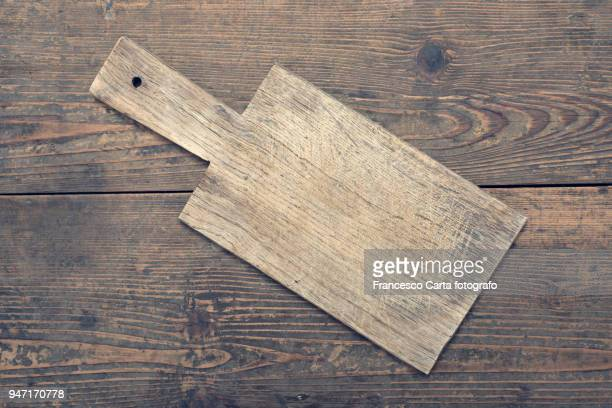 old kitchen utensils - cutting board stock pictures, royalty-free photos & images