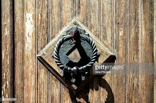 Old knocker close up.