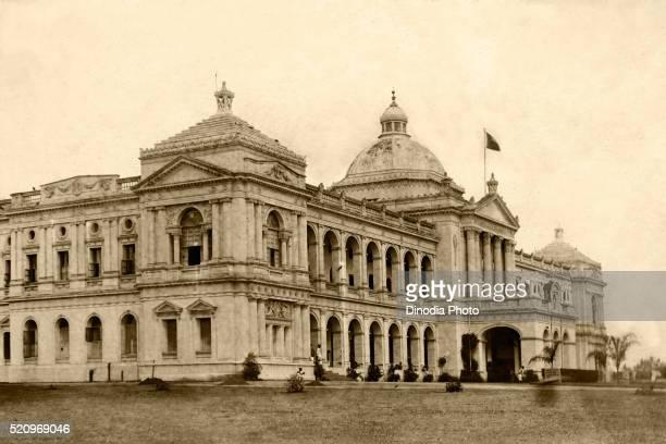 old k.r. hospital, mysore, karnataka, india - mysore - fotografias e filmes do acervo