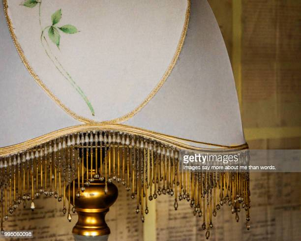 old lamp close up in a retro stille. fashionable today as well. still life. - art deco furniture stock pictures, royalty-free photos & images