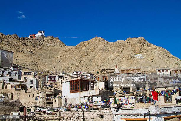 old leh town - hema narayanan stock pictures, royalty-free photos & images