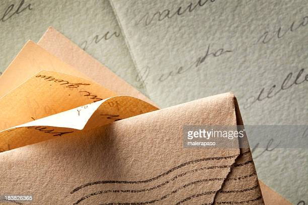 old letters - send stock pictures, royalty-free photos & images