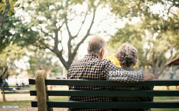 old love is the truest love - bench stock pictures, royalty-free photos & images