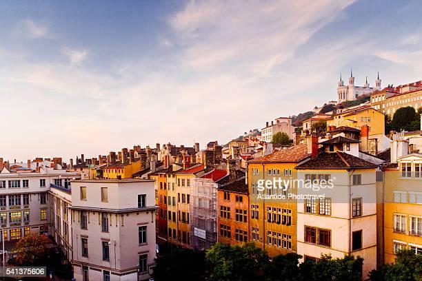 Old Lyon Rising on Hillside