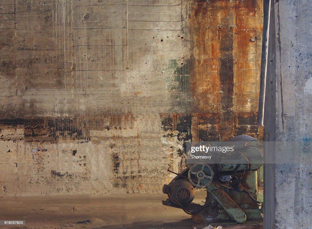 Antiga Máquina : Foto de stock