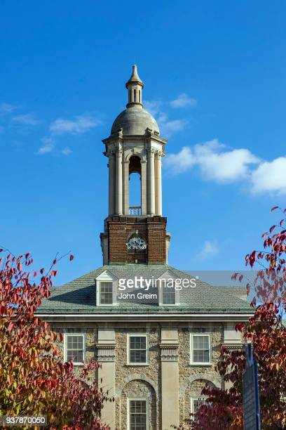 Old Main building on the campus of Penn State University