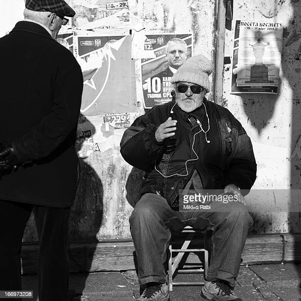 Old man in Beograd, Serbia