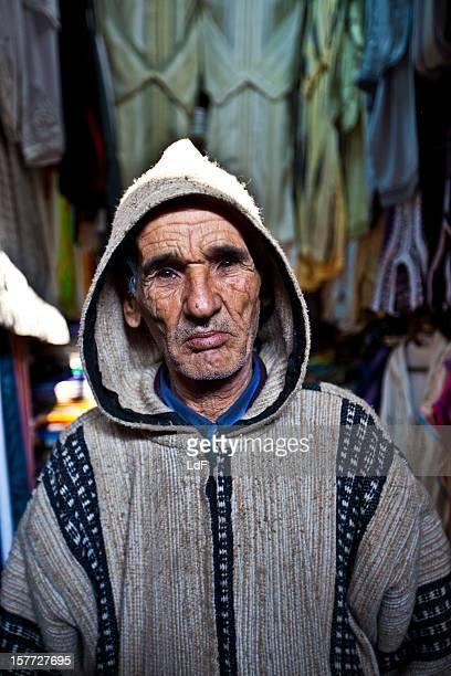 Vieil homme à Rabat