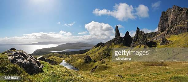 Old Man of Storr on Isle of Skye, Scotland