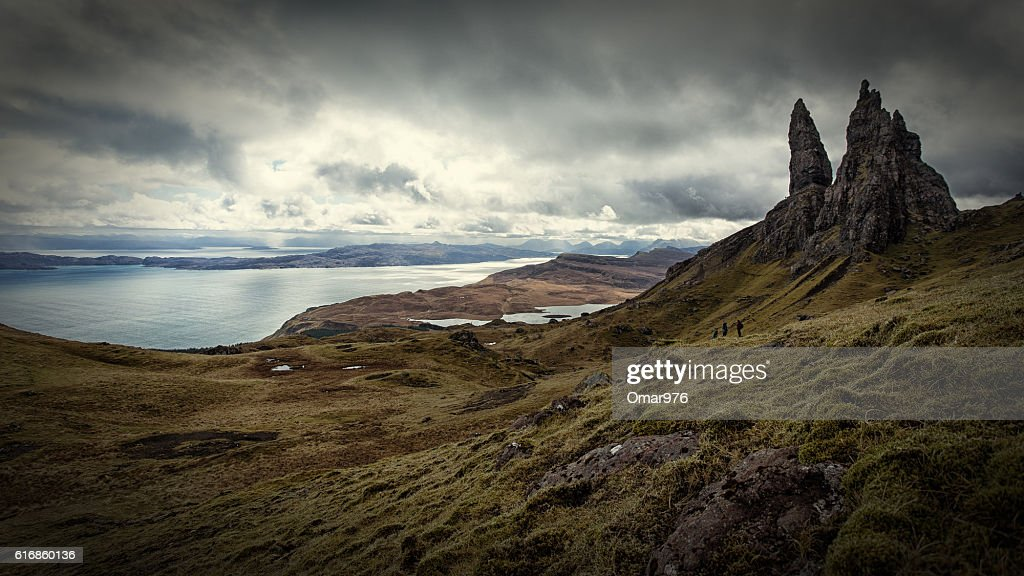 Old Man of Storr : Stock Photo
