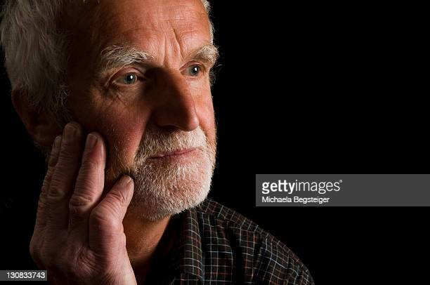 old man, older than 60 years, pensive, melancholic - 65 69 years stock pictures, royalty-free photos & images
