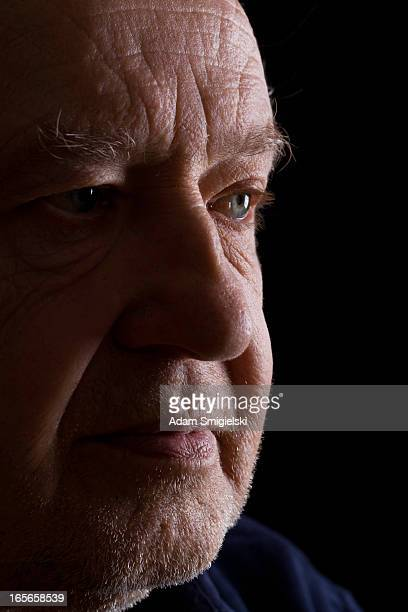 old man - receding hairline stock pictures, royalty-free photos & images