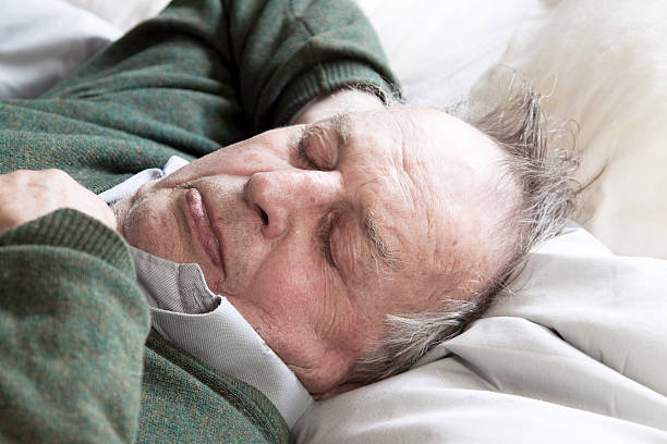 old man asleep Sleep is a naturally recurring state of mind and body, characterized by altered consciousness, relatively inhibited sensory activity, inhibition of nearly all voluntary muscles, and reduced interactions with surroundings.