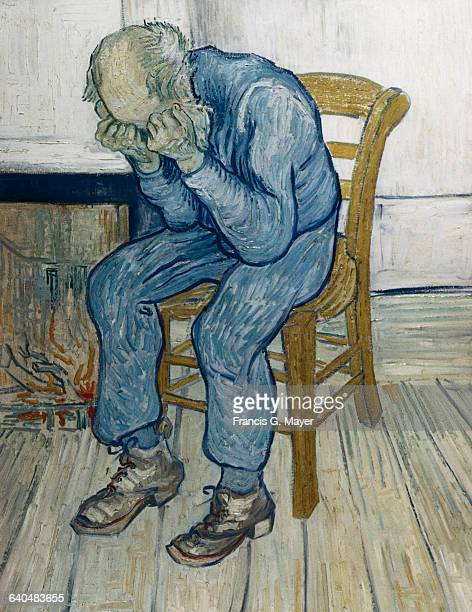 Old Man with His Head in His Hands by Vincent van Gogh