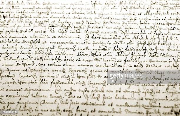 old manuscript - category:pages stock pictures, royalty-free photos & images