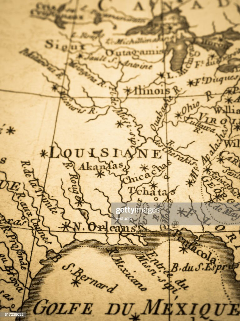 Old Map America East Coast Stock Photo - Getty Images