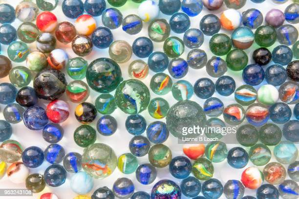 old marbles - lianne loach stock pictures, royalty-free photos & images
