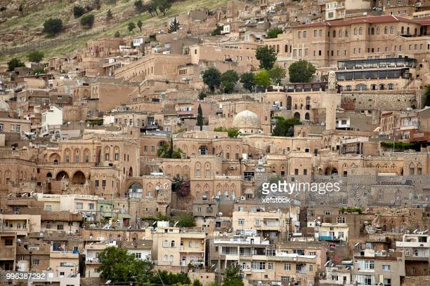 old mardin city. turkey - minaret stock pictures, royalty-free photos & images