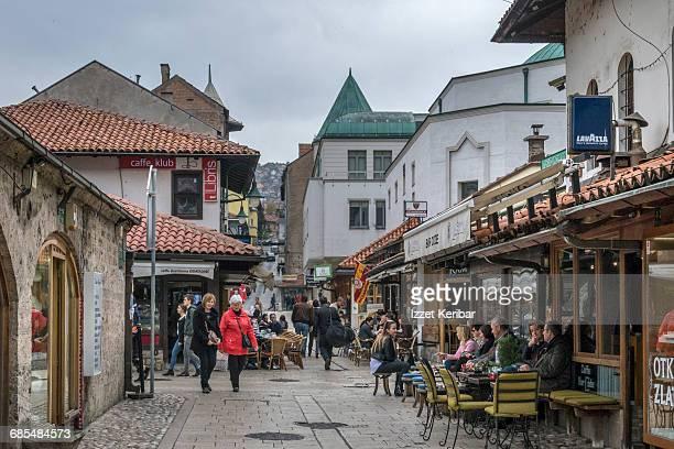 Old market Sarajevo, Bosnia Herzegovina