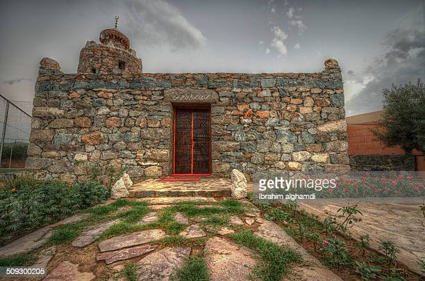 old masjeed - saudi arabia stock photos and pictures