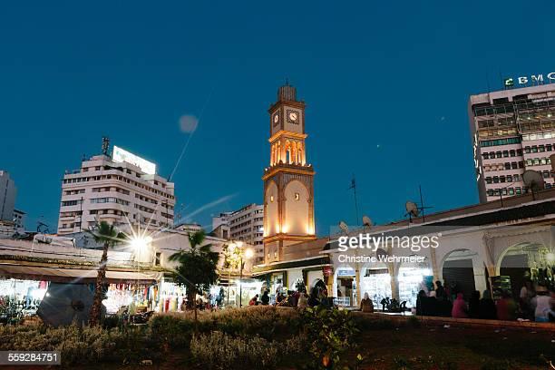 Old Medina Clock Tower, Casablanca