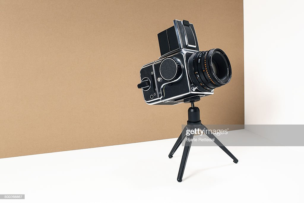 Old Medium Format Camera : Stock Photo