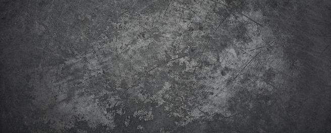 Old Metal Background - Texture Grunge Blackboard Scratched Vintage 1064229818