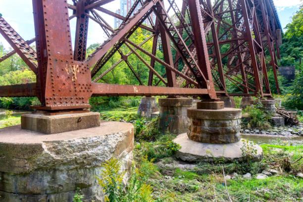 Old metallic bridge