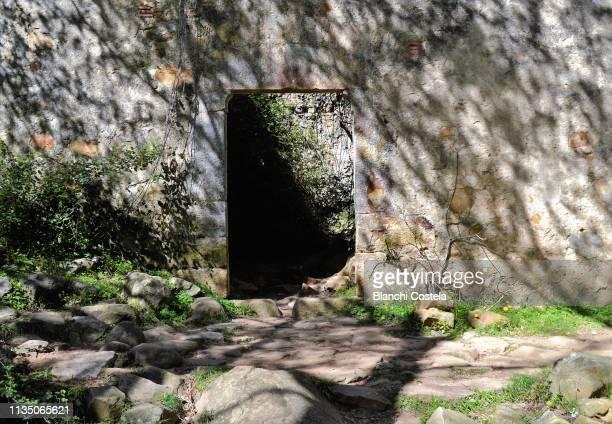 Old mill in the natural park of Los Alcornocales in Cadiz