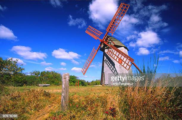 old mill - nantucket stock pictures, royalty-free photos & images