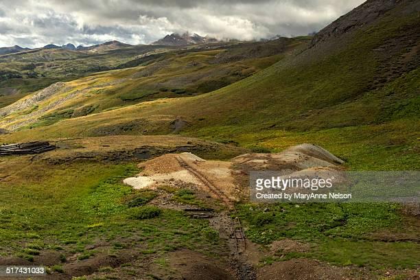 Old Mine Railroad Track on Stony Pass
