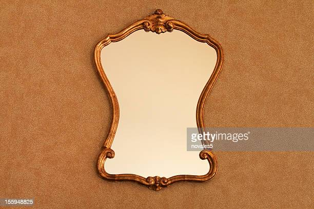 old mirror - mirror frame stock photos and pictures