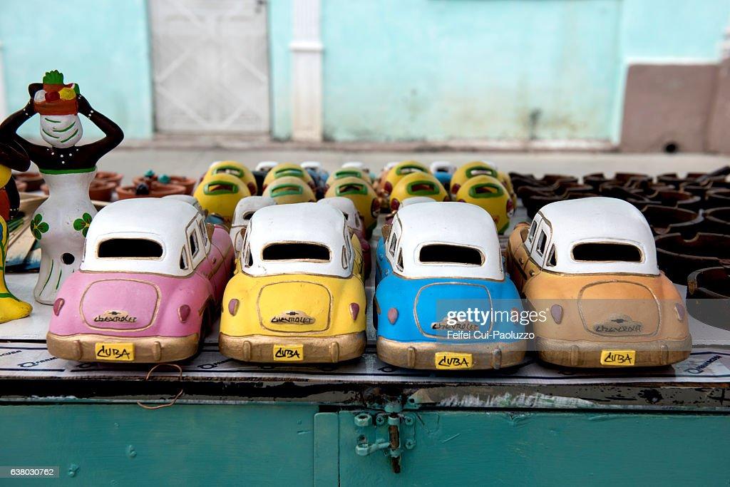 Old Model Cars For Sale At Market Of Cienfuegos In Cienfuegos ...