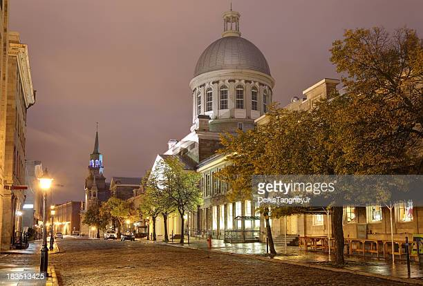 old montreal - vieux montréal stock pictures, royalty-free photos & images