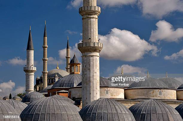 old mosque, selimiye mosque. - selimiye mosque stock pictures, royalty-free photos & images